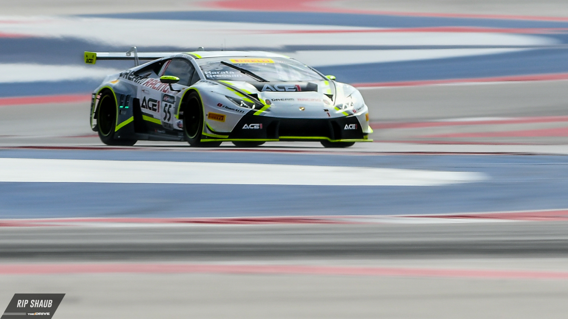 Pwc At Cota The Gt Class Cars Drive Go Back Gallery For Series Circuits Formulas Dream Racing And Ace 1 Brought Their Striking Lamborghini Huracan Gt3 To With Drivers Yuki Harata Alessandro Bressan