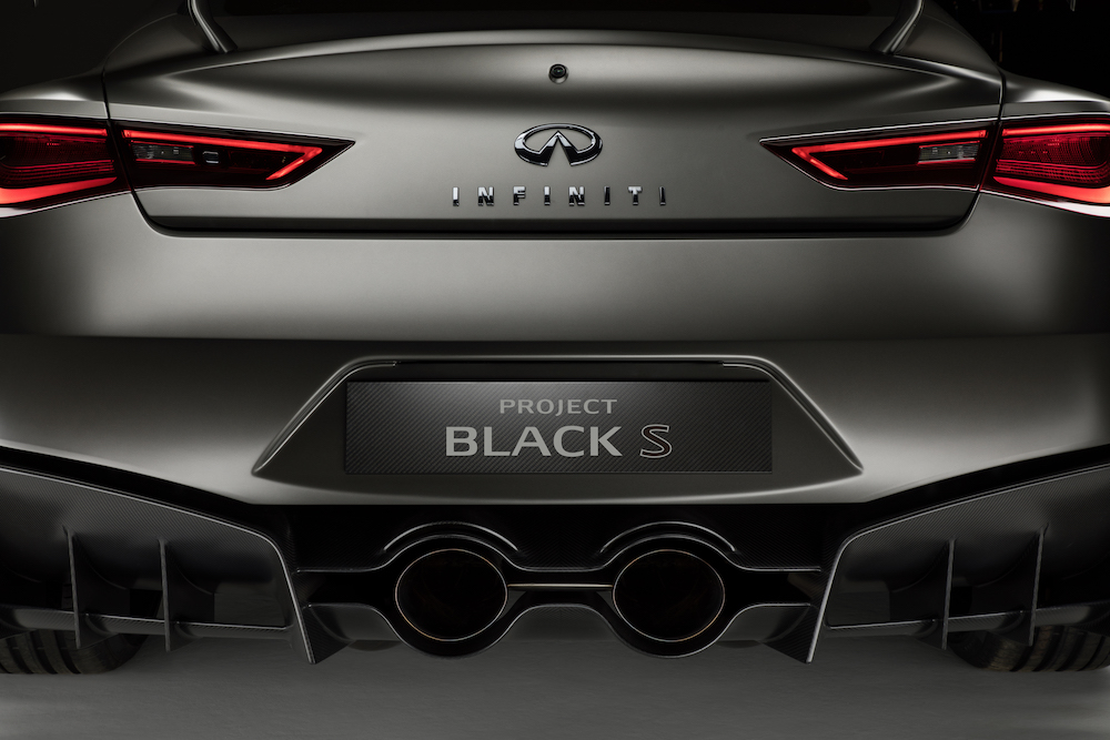 Formula 1 Inspired Infiniti Q60 Black S Rumored To Be On Its Way To