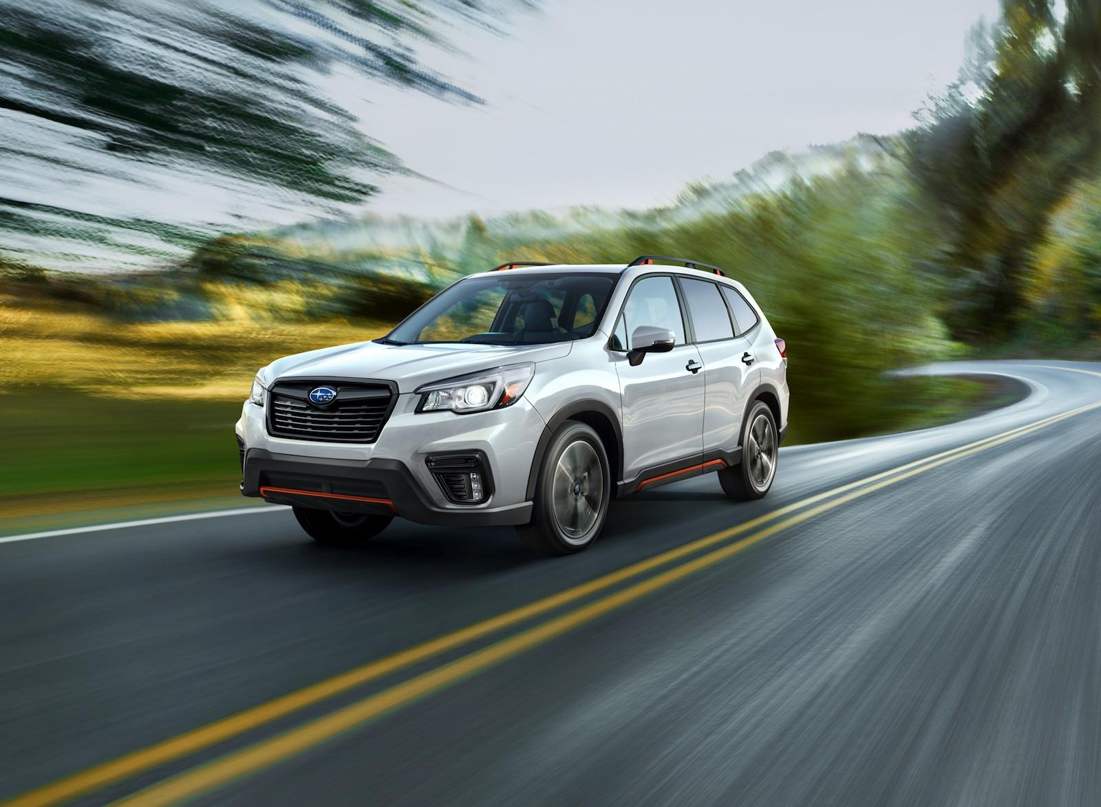 2019 Subaru Forester Revealed At New York International Auto Show