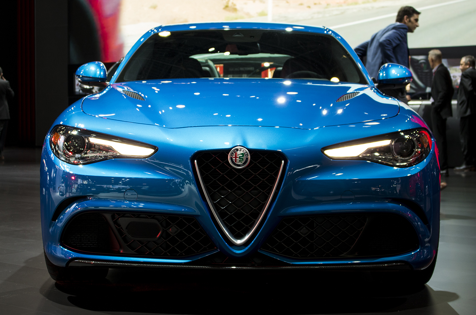 Paint With All The Colors Of Nyias Most Colorful Cars Alfa Romeo Codes Giulia Veloce In Misano Bluekyle Cheromcha