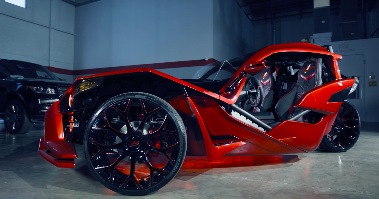 Check Out Luis Fonsi S Custom Polaris Slingshot The Drive