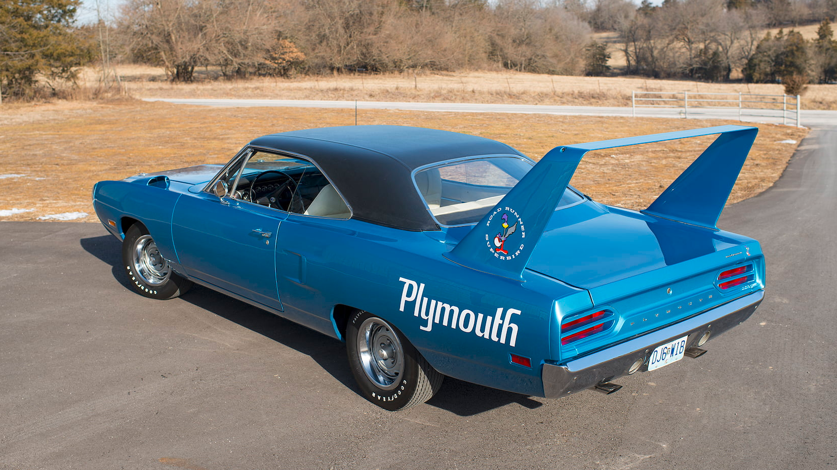 there s an all original 1970 plymouth superbird headed to auction
