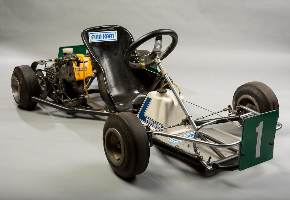finn kart 3d Formula 1 Champ Mika Hakkinen's Race Winning Kart Is Now for Sale  finn kart 3d
