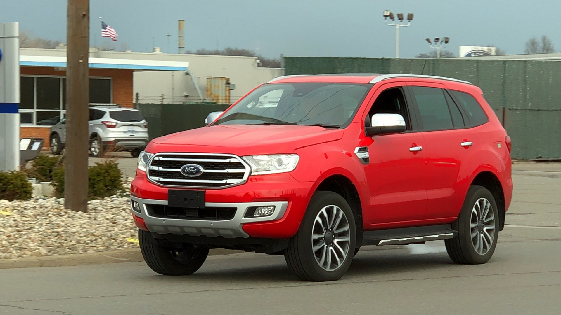 Exclusive Ford Everest Caught Roaming Near Ford Hq As