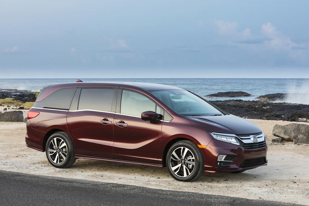 2019 Honda Odyssey Starts At 31 065 The Drive