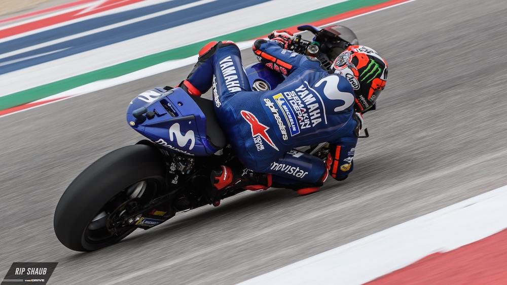 MotoGP: Yamaha's Maverick Vinales on Pole at Austin After Marquez's Penalty