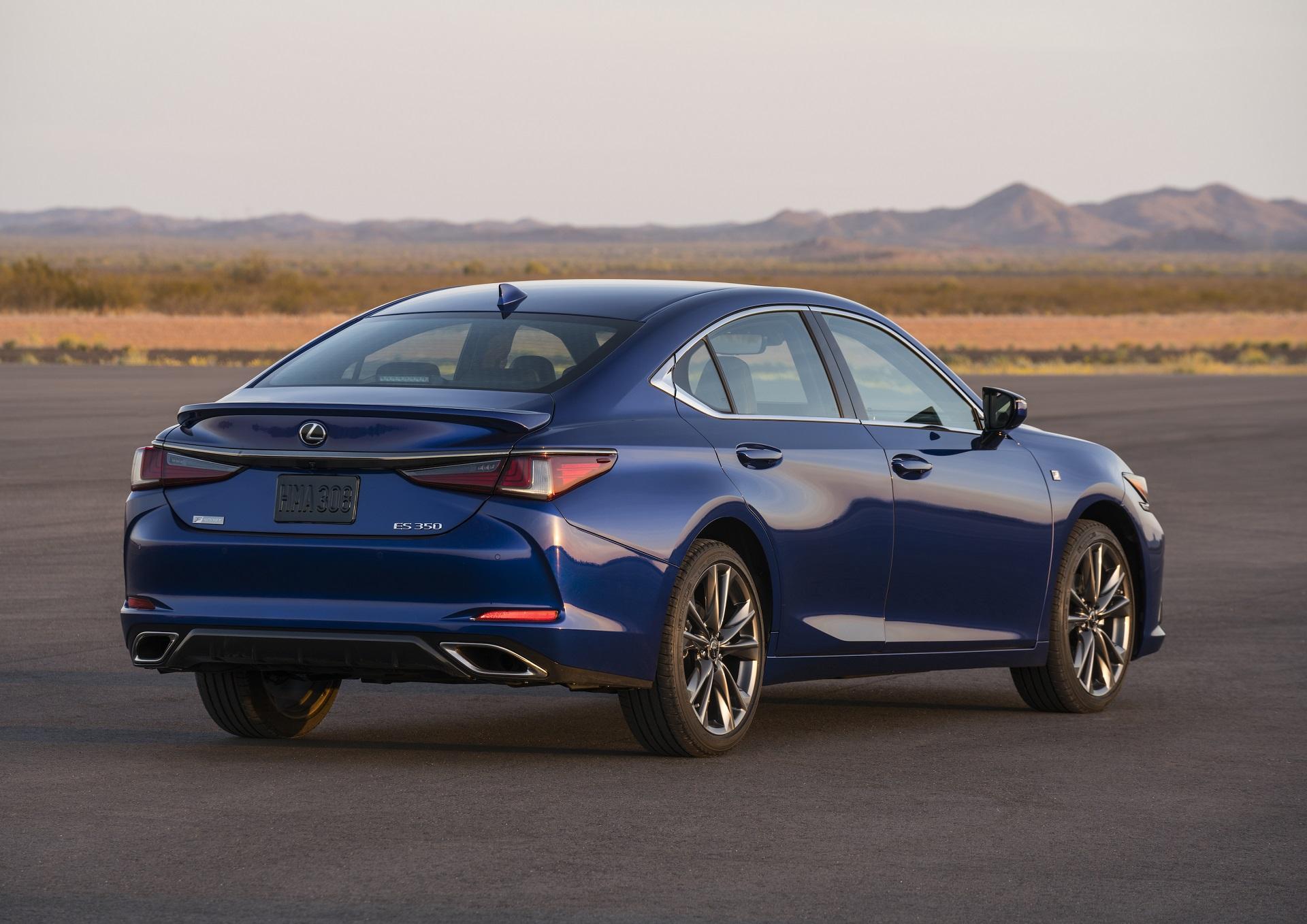 The New Lexus ES s F Sport Trim Adds a Sportier Look Adaptive