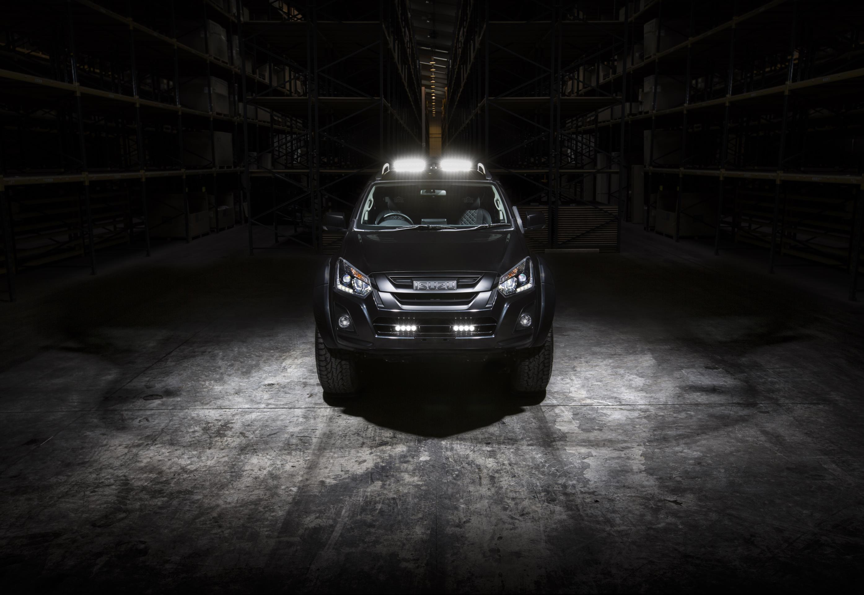 Isuzu D-Max Arctic Trucks AT35 Stealth at the Commercial