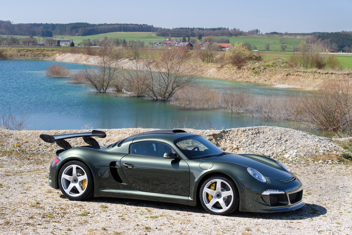 Ruf Ctr 3 Clubsport Going To Auction For 967 000 The Drive