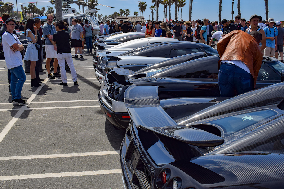 Highlights From Cars N Copters On The Coast A Hypercar - Lamborghini newport beach car show 2018