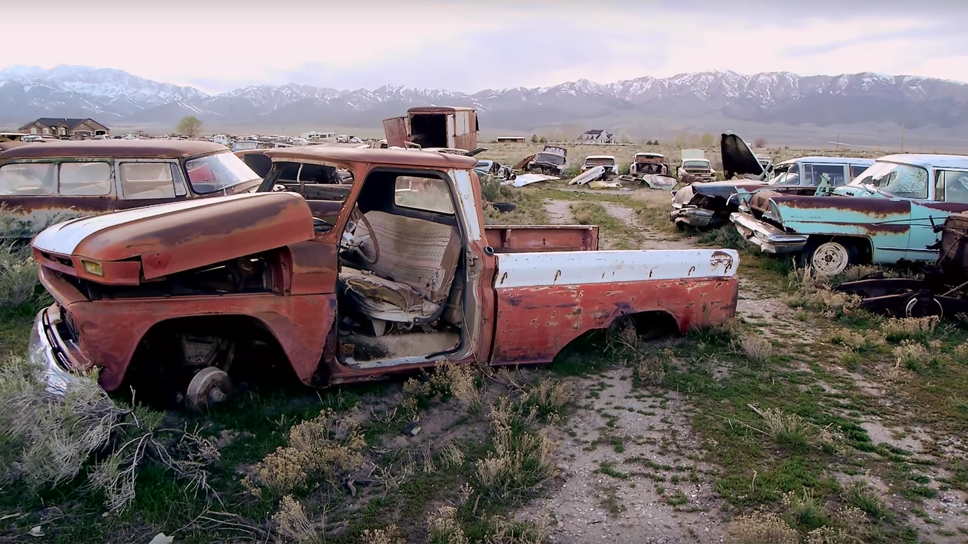 Suburban Development Is Forcing Utah's Last Classic Car Parts Yard