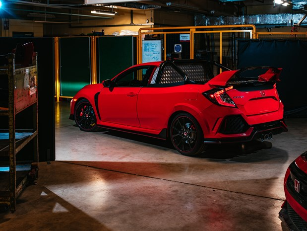 Honda Has Built A Pickup Truck Out Of The Civic Type R The Drive