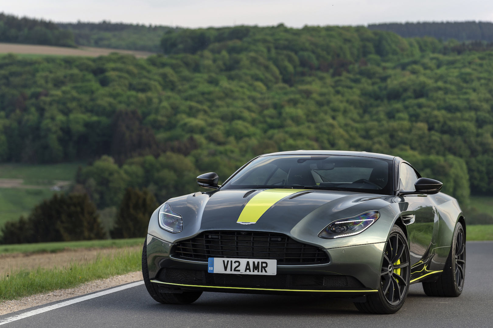 2019 Aston Martin Db11 Amr First Drive Review Aston Keeps Fussing Over Its V 12 Grand Tourer