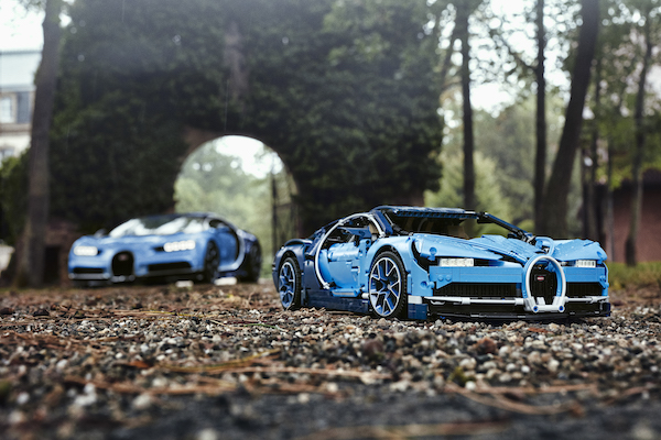 Lego Technic Bugatti Chiron revealed with 3,599 pieces, including movable engine parts