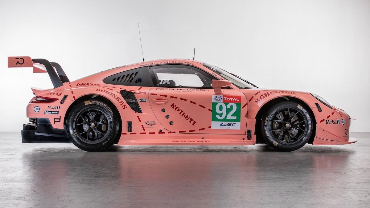 Porsche Brings Back Iconic Pink Pig Rothmans Liveries For
