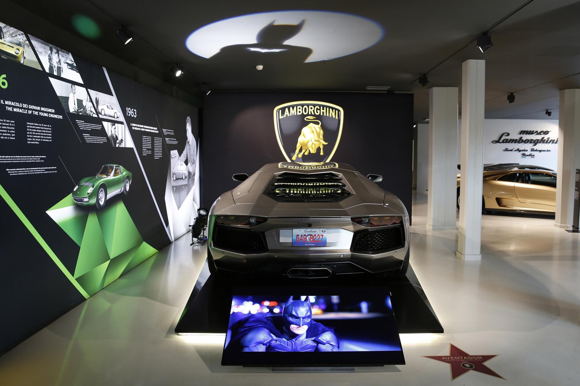 Cinematic Lamborghini Vehicles Exhibited At The Museum In