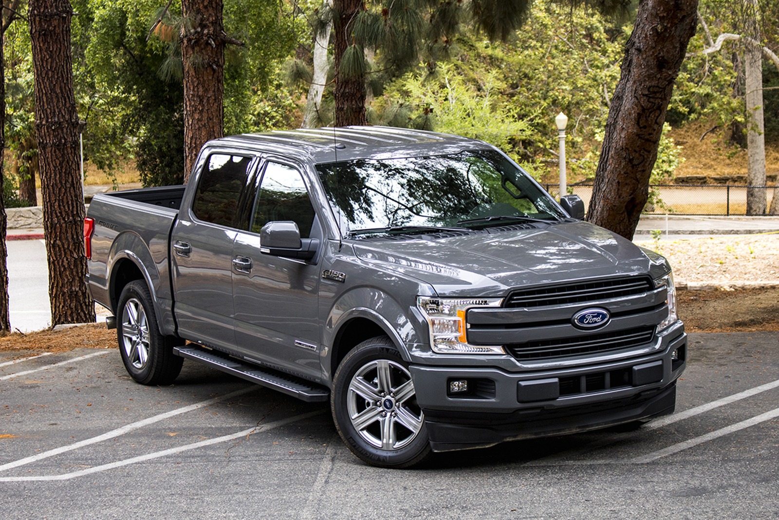 2018 Ford F 150 Diesel Review How Does 850 Miles On A Single Tank Sound