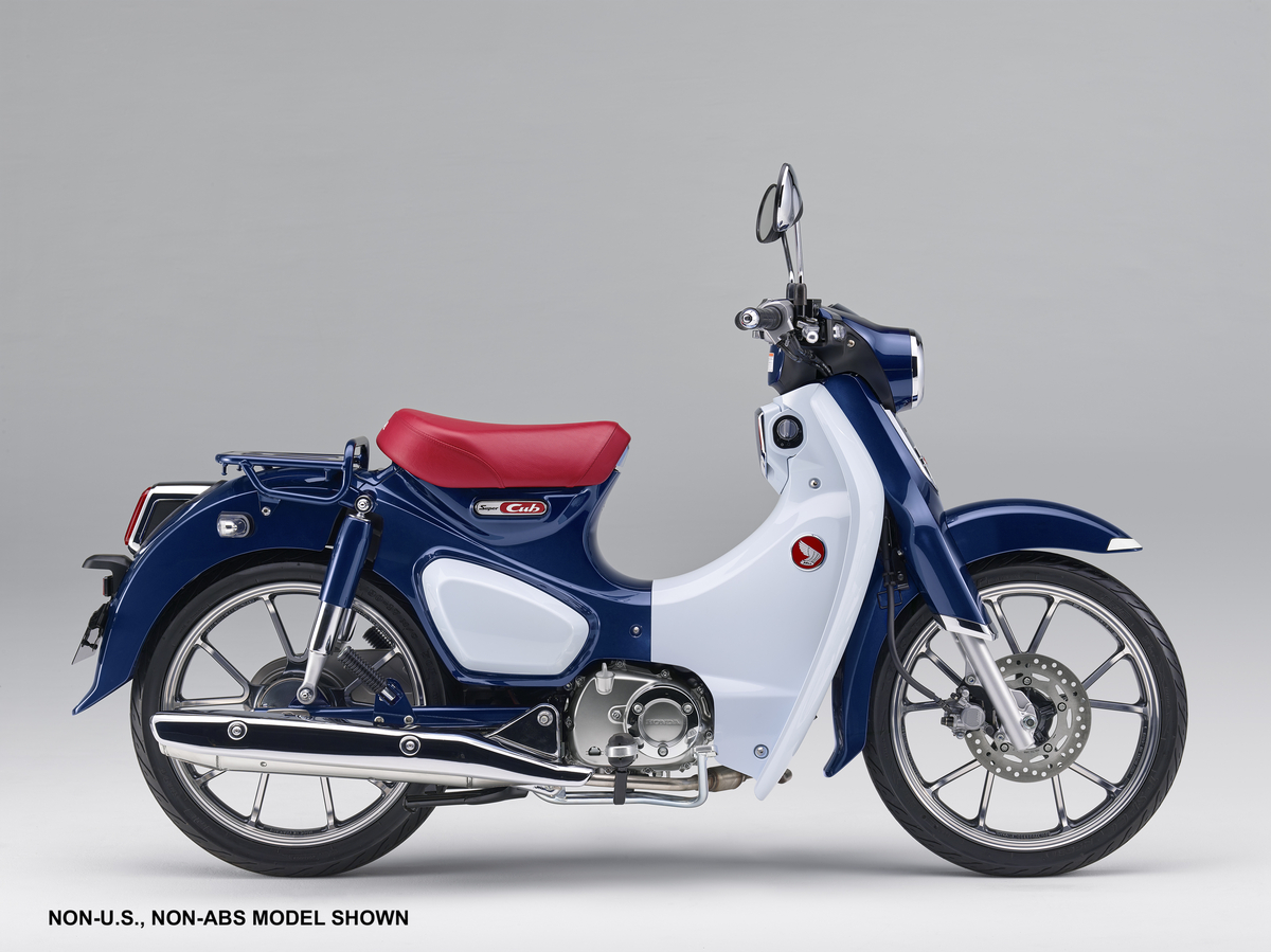 Honda Announces American Debut Of Monkey And Super Cub Motorcycles