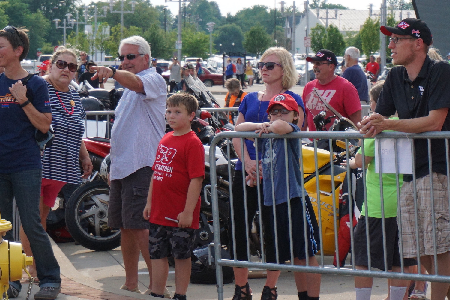 Champion Auto Owensboro >> Scenes From the Just-Unveiled Nicky Hayden Memorial in ...