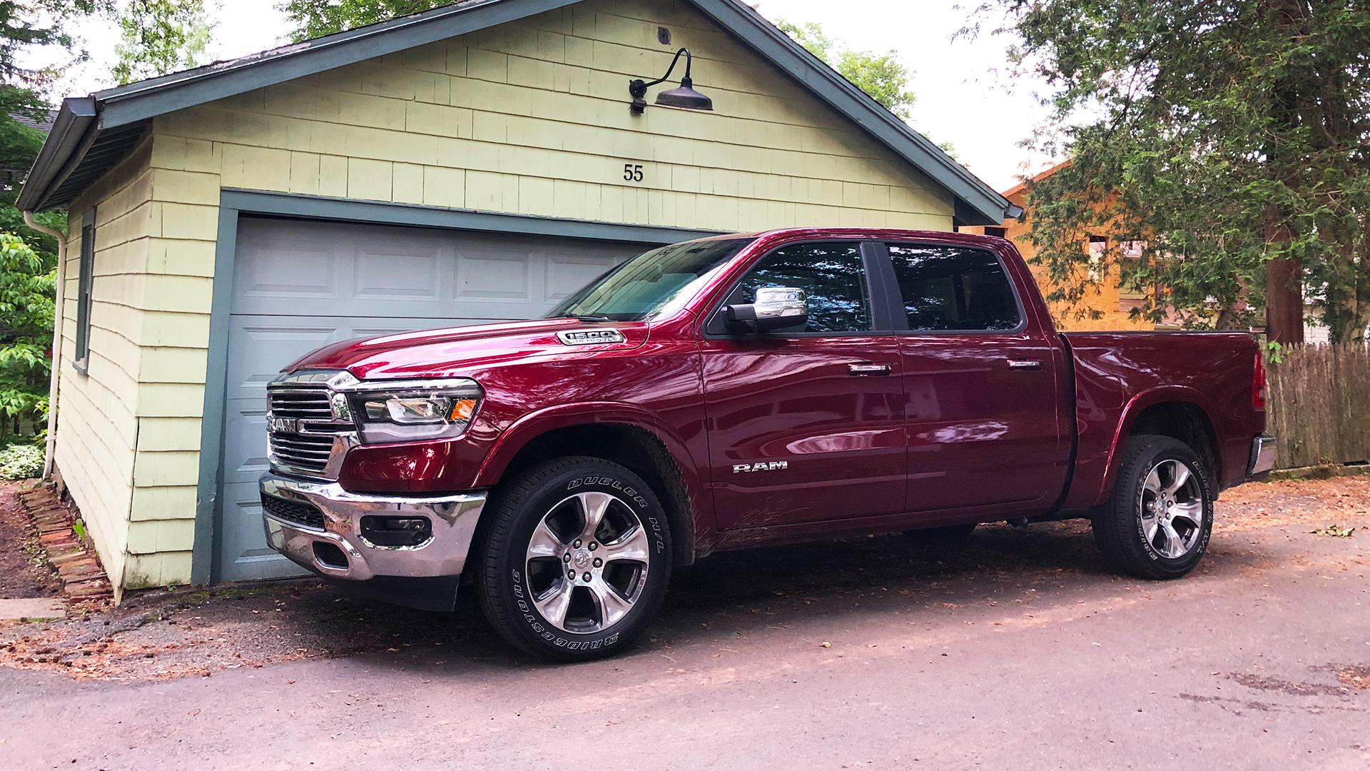 2019 Ram 1500 Laramie Crew Cab 4x4 Review: One Fancy ...