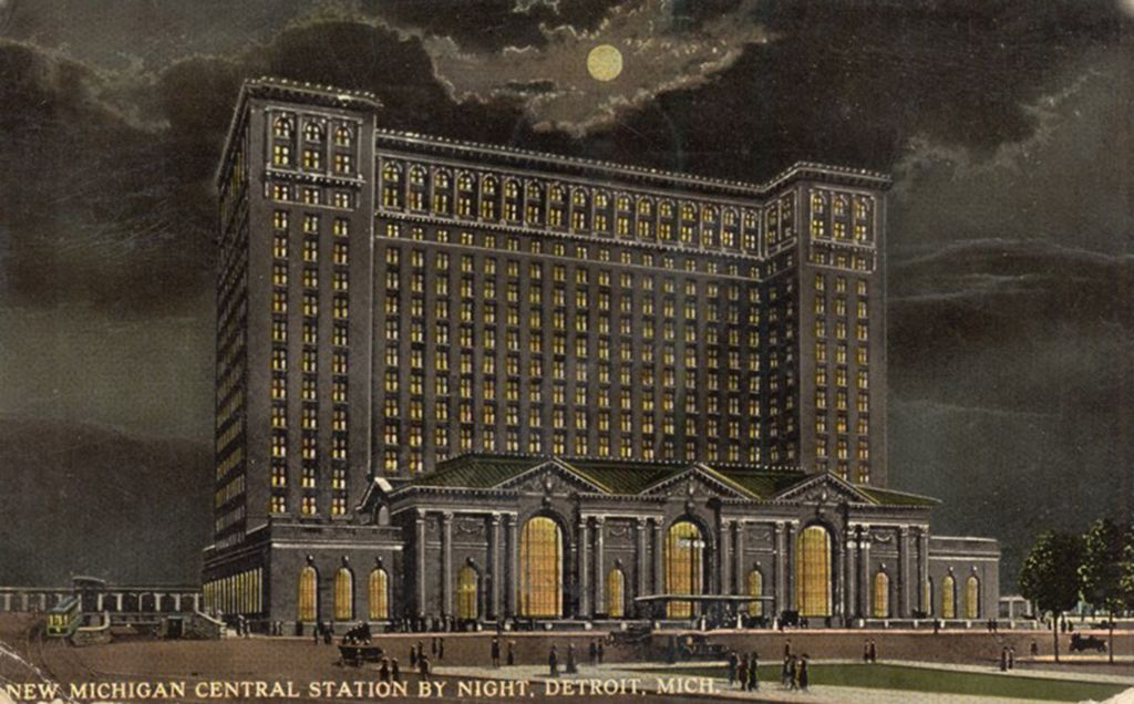 Photo Gallery: Detroit's Michigan Central Station Through