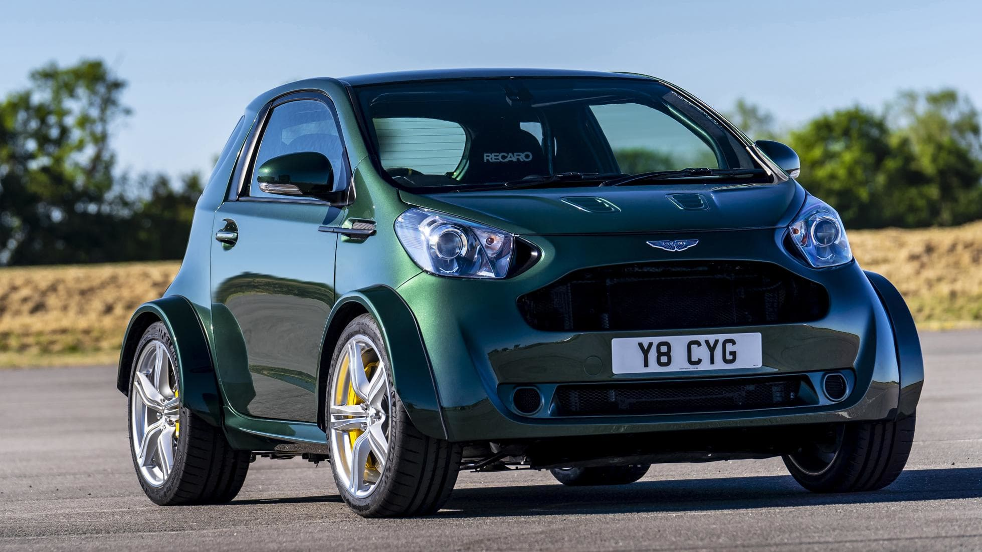 Aston Martin Puts V8 in Tiny Cygnet