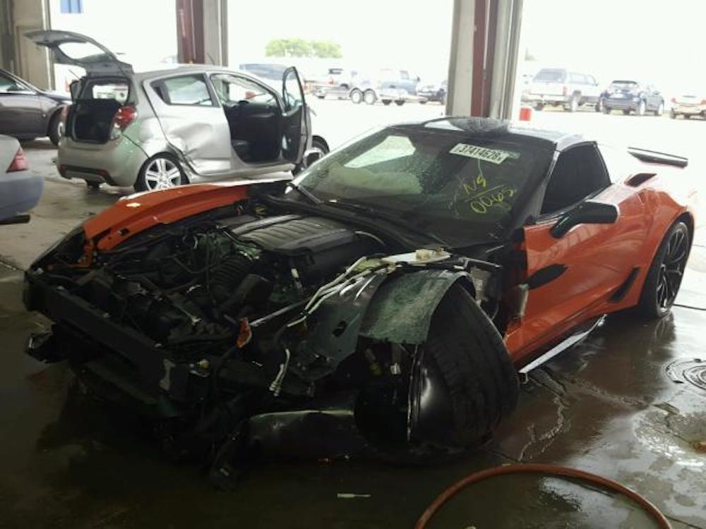 Corvette Grand Sport Had 15-Mile Lifespan