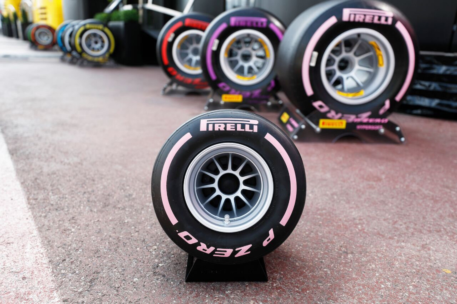 Pirelli Targets The Hearts And Wallets Of F1 Fans With Tire Inspired
