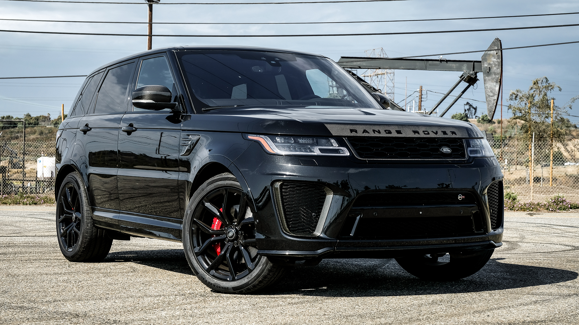 2018 Range Rover Sport SVR Review: This 575-HP Solid Wall of