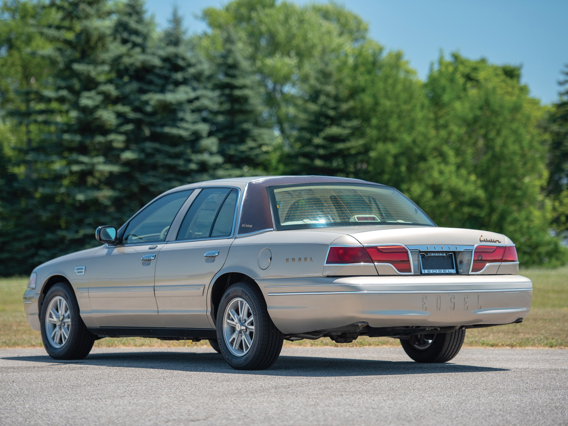 This Wacky Crown Victoria-Turned-Edsel Tribute Is Headed to Auction