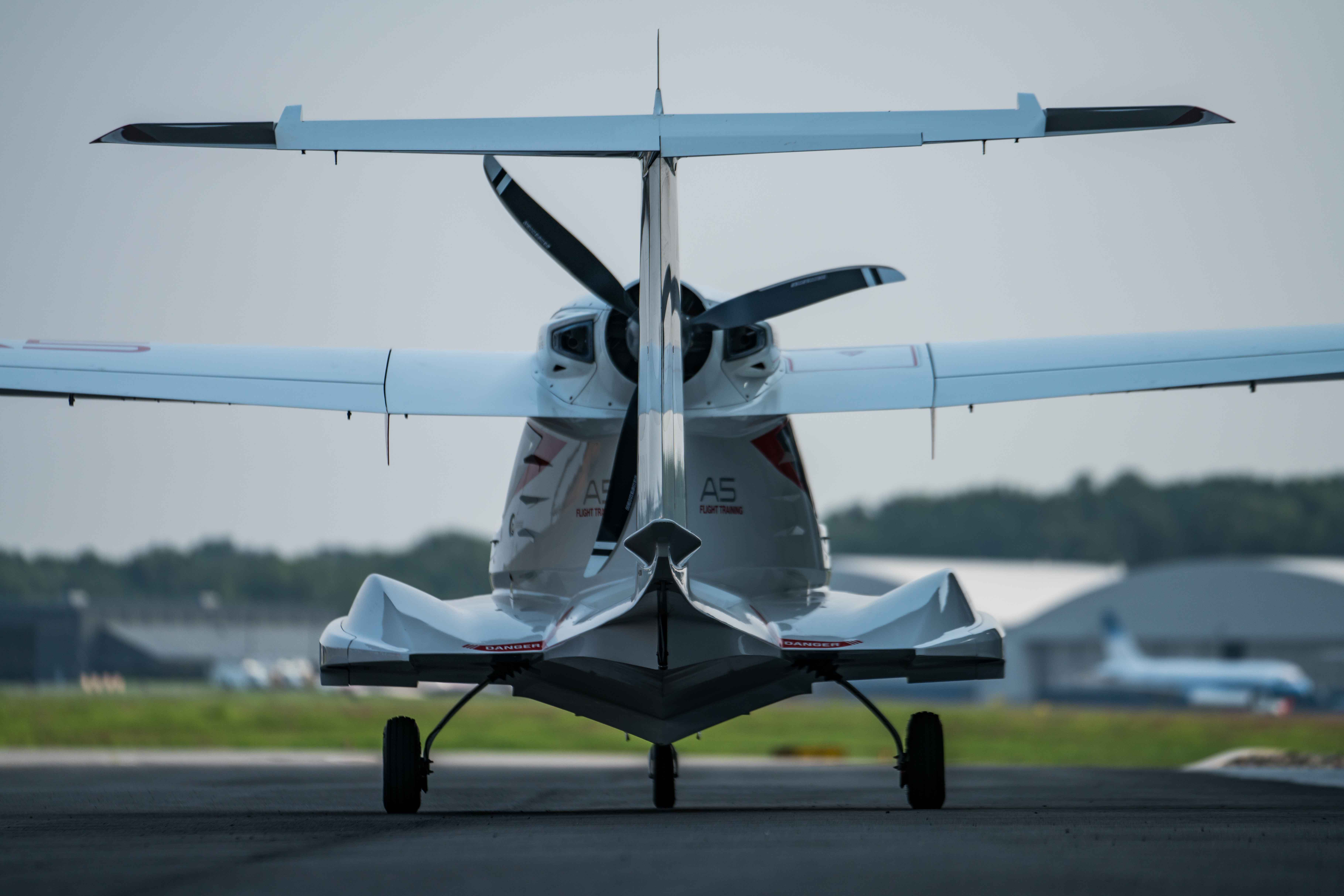 Icon A5 Aircraft Test Flight: Flying Into What the Future of