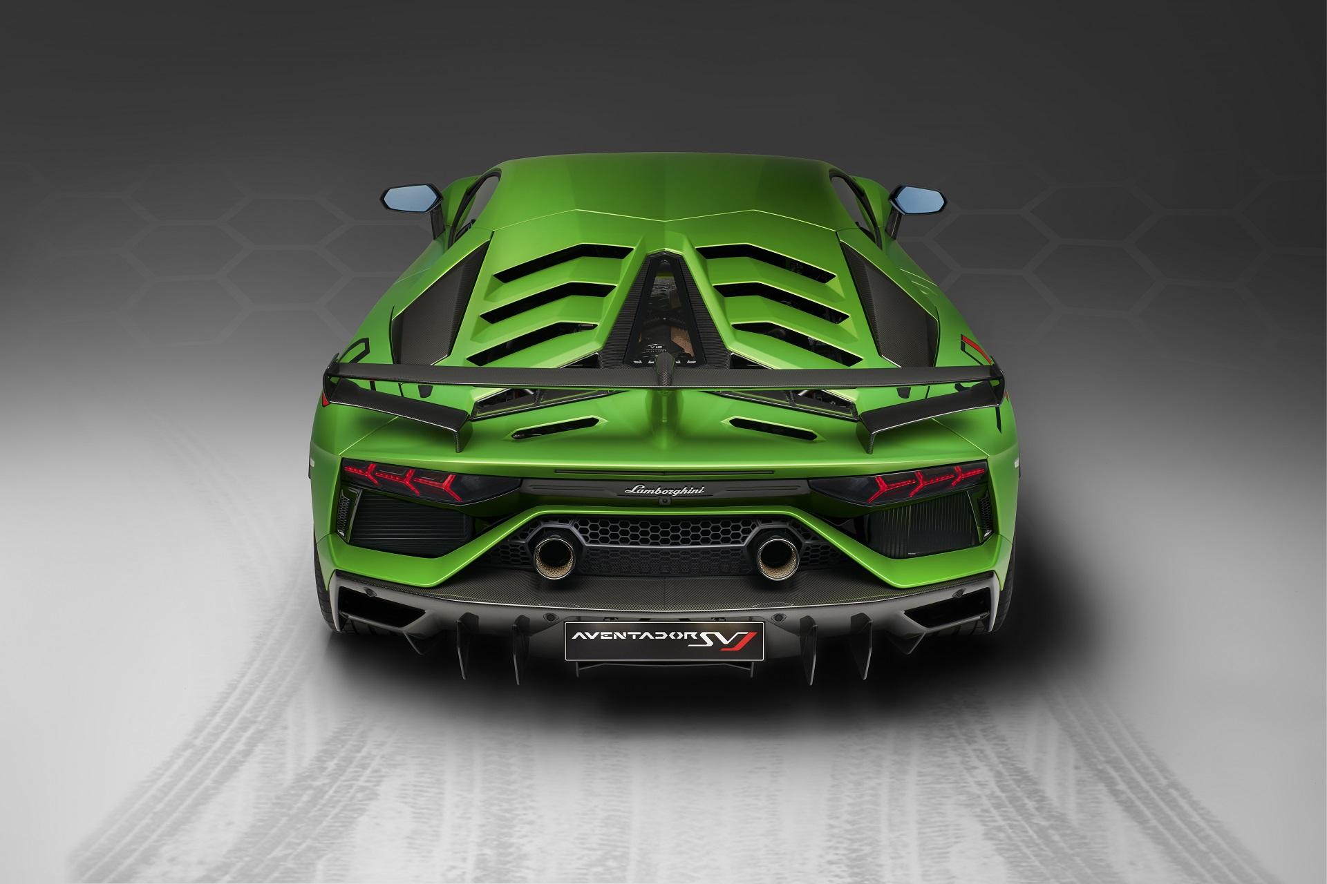 2019 Lamborghini Aventador Svj Performante Style Aero Meets 770 Hp