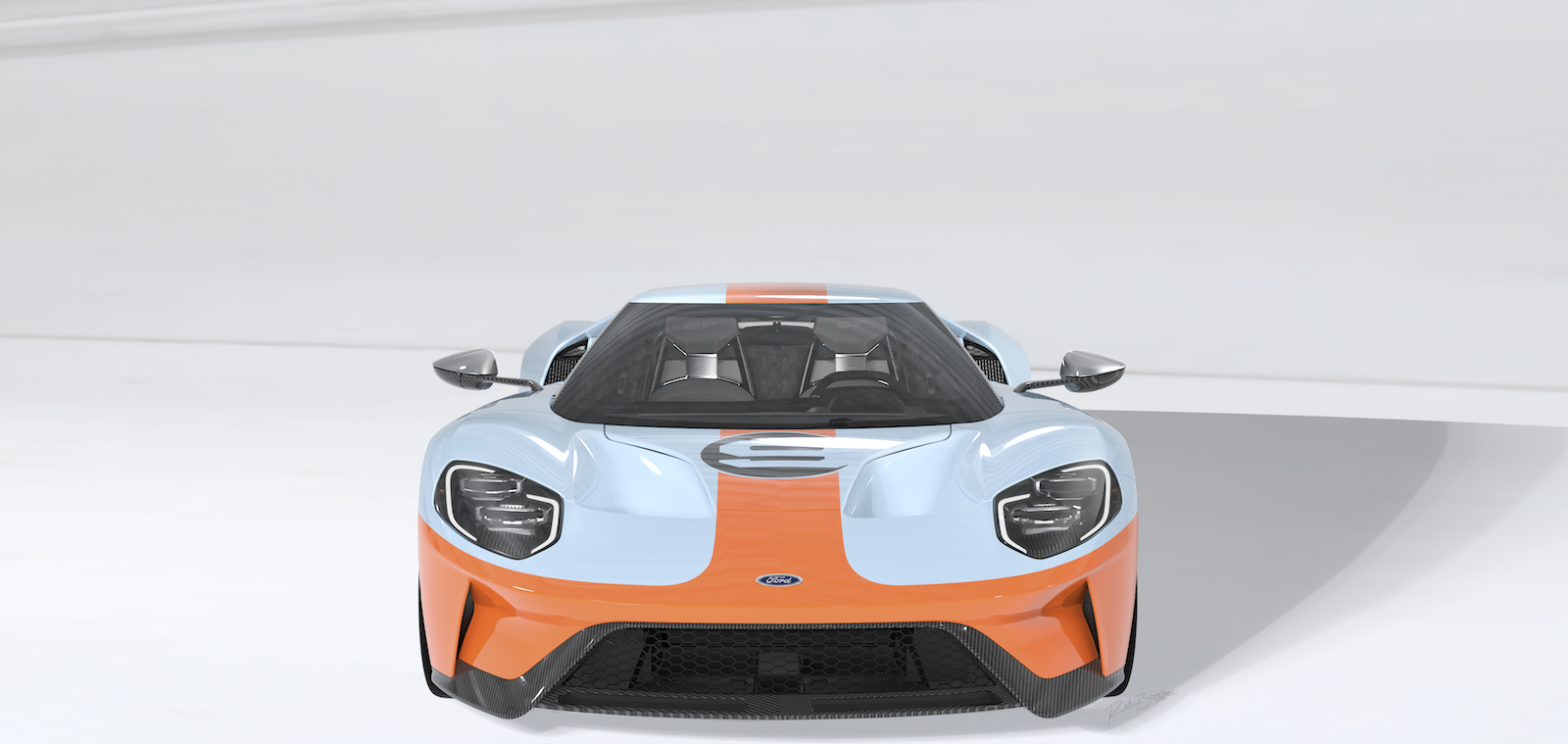 2019 Ford GT Heritage Edition: Orange and Blue Is the New ...