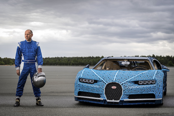 Lego Built A Full Size Bugatti Chiron That Actually Drives