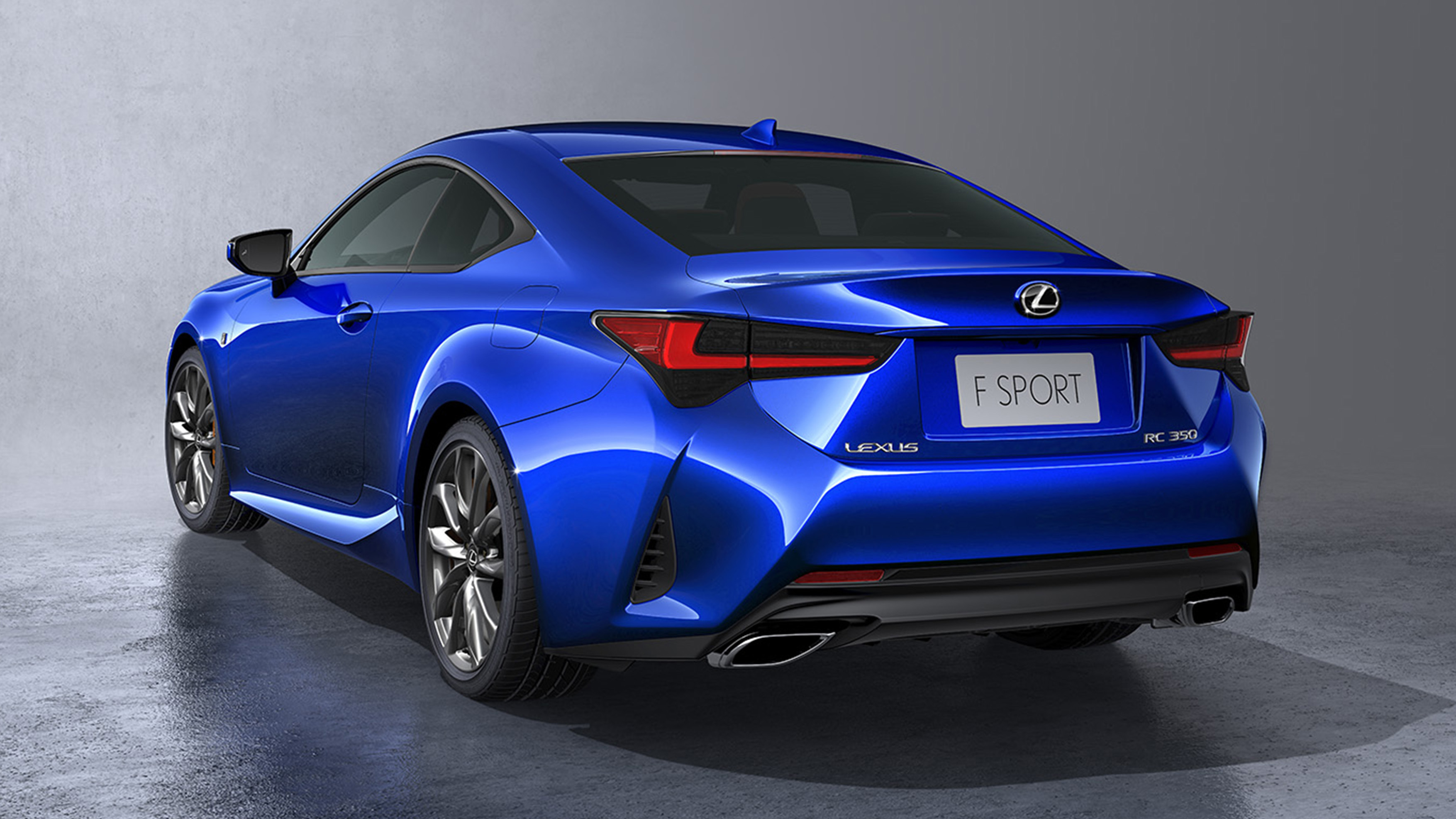 2019 lexus rc  borrowing heavily from its fancier siblings