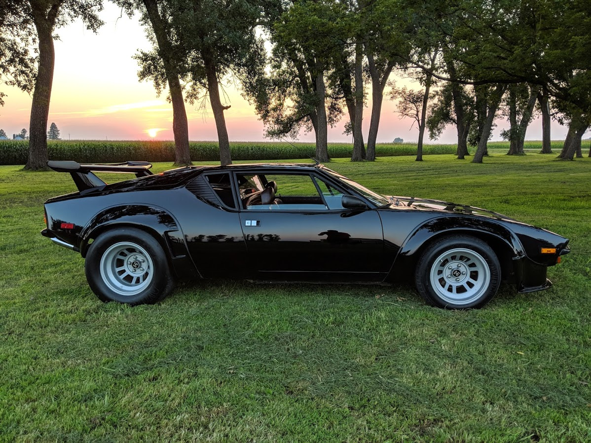 The DeTomaso Pantera GT5 Is the Holy Grail of Panteras - The Drive