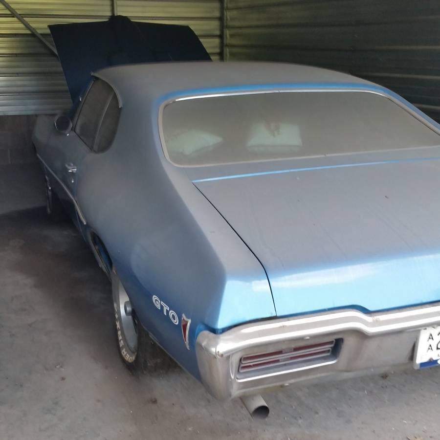 This $15,500 1968 Pontiac GTO Barn Find Might Be a Real One-Of-A