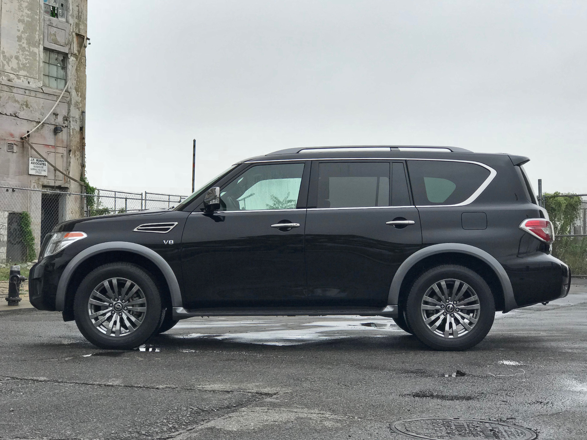 2018 Nissan Armada Platinum Reserve Test Drive Review An Suv As Big And Old As A Battleship