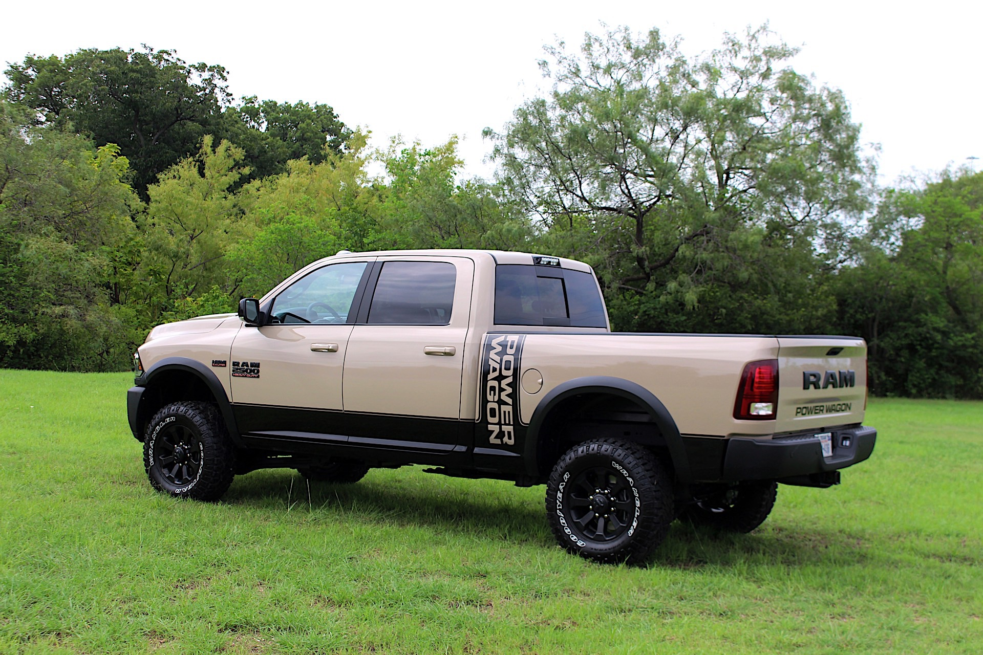 the ram power wagon mojave sand limited edition is ready