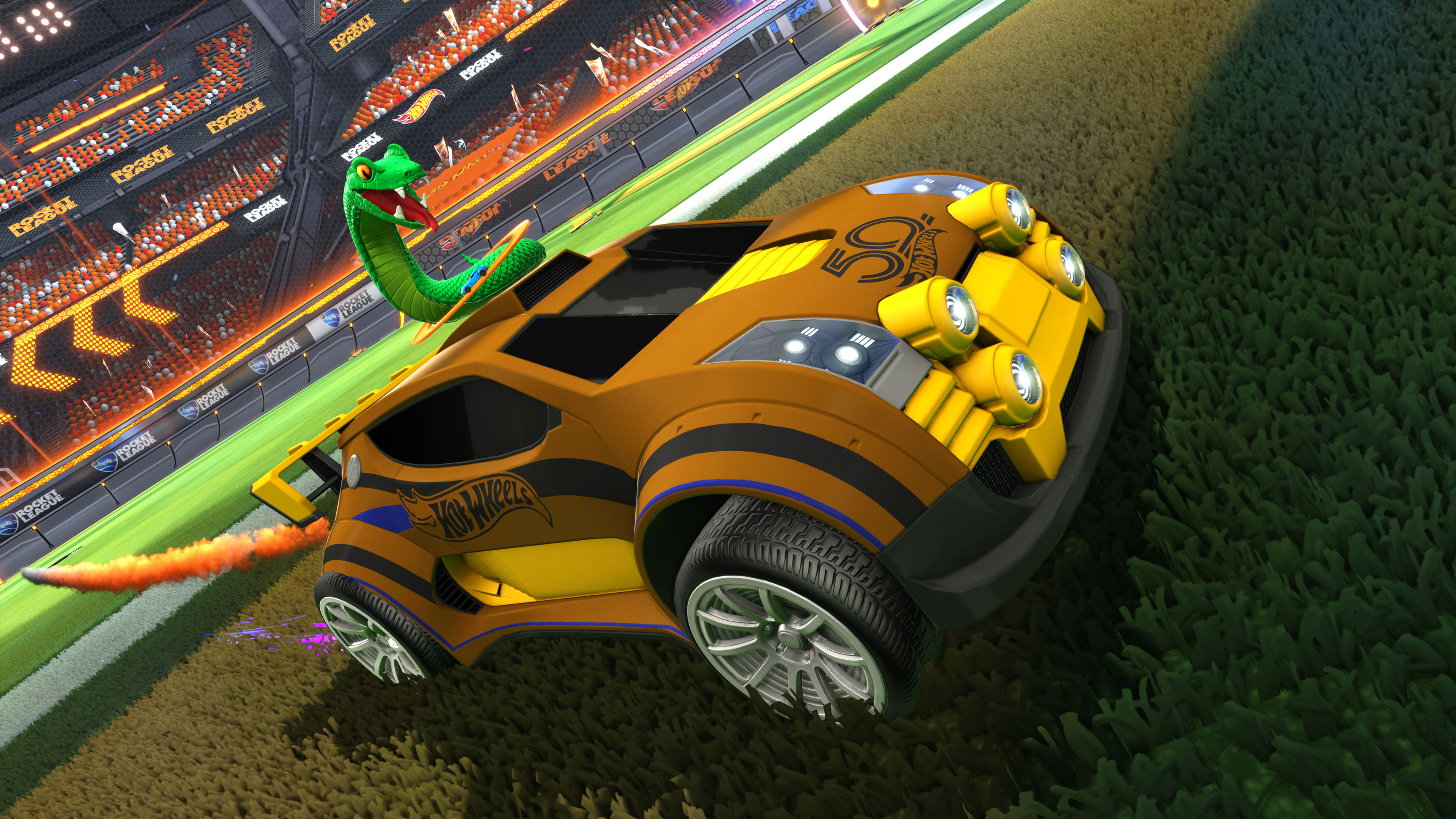 Rocket League Video Game to Release Hot Wheels 50th ...