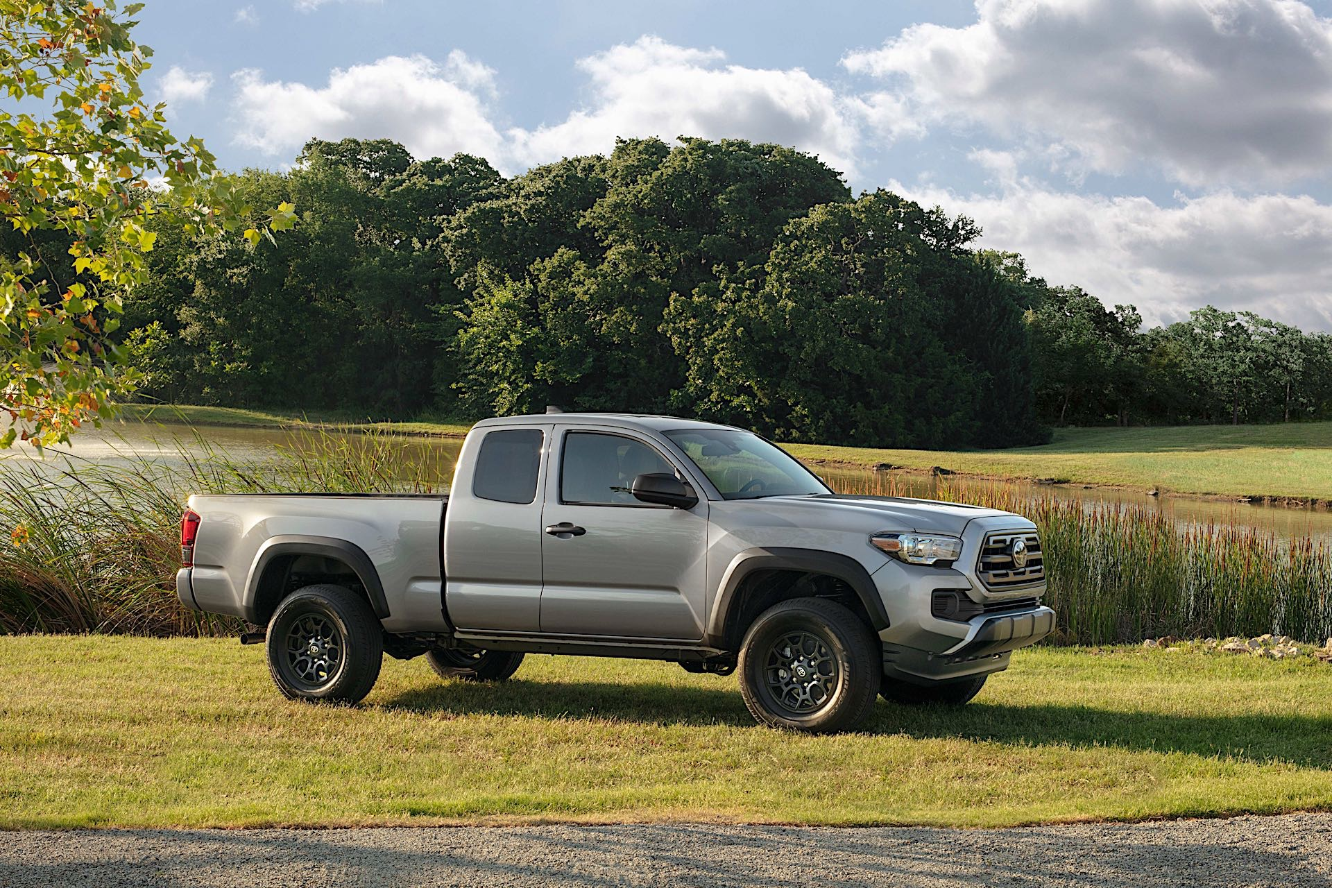 tacoma toyota blacked 4runner tundra texas package debuts fair state sx drive