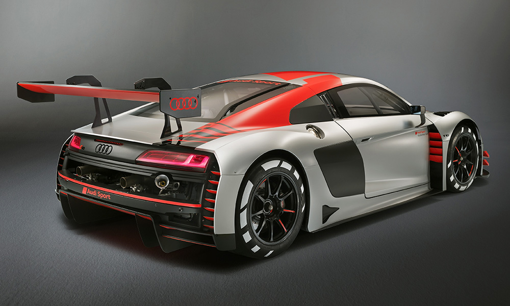 Audi Unveils 460 000 2019 R8 Lms Gt3 Evo At Paris Motor Show The