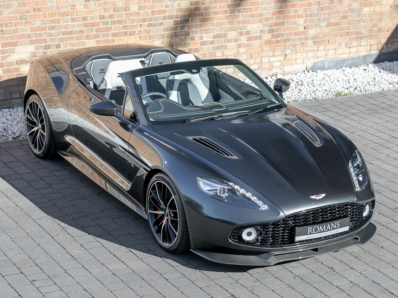 Aston Martin Vanquish Zagato Volante Listed For Sale With Eye Watering Price Tag