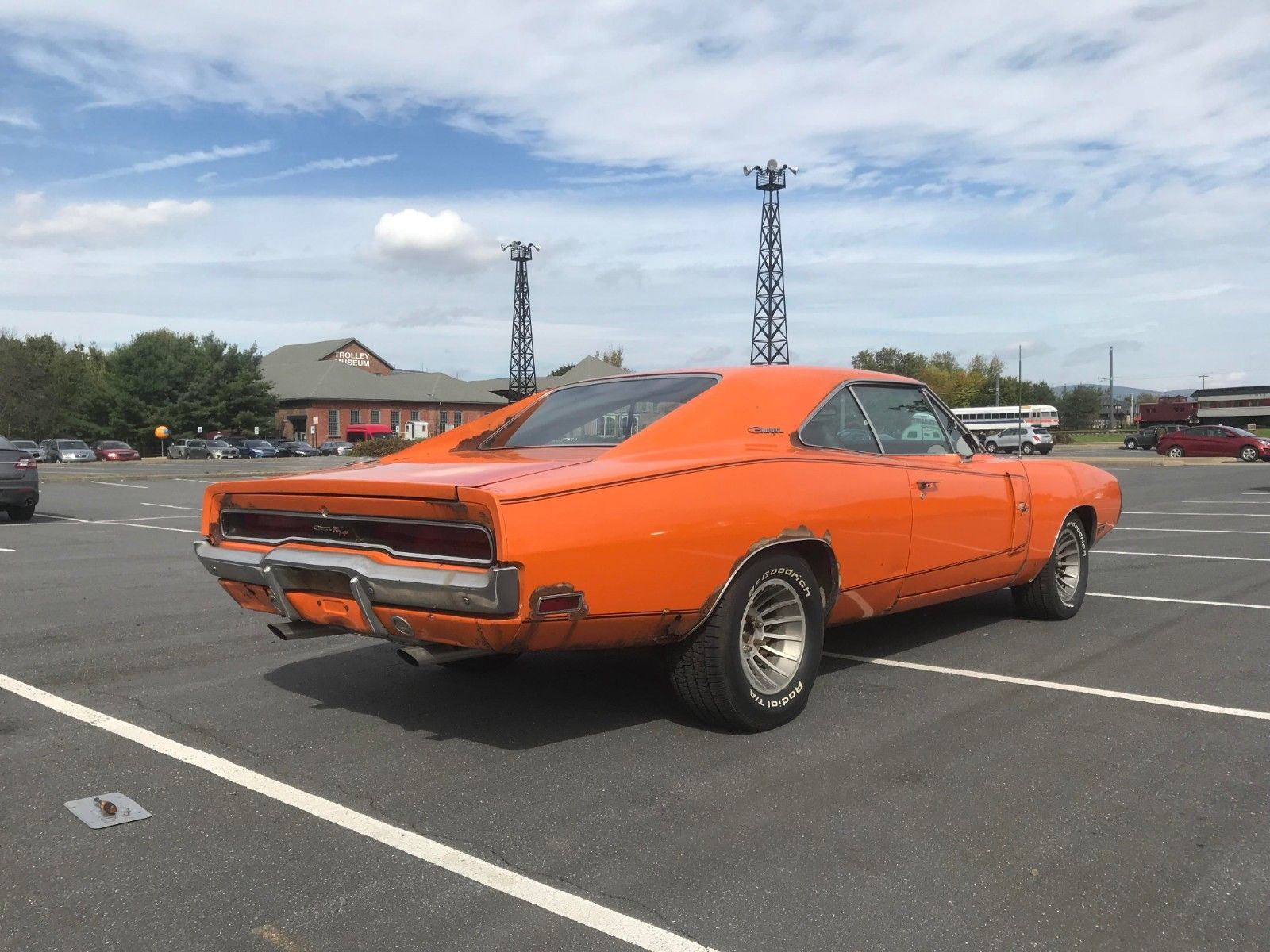 This Rare 1970 Dodge Charger R/T Was Found in a Barn Under a
