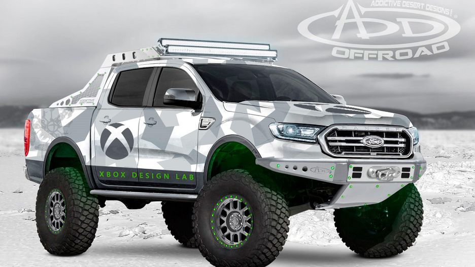 Ford Splashes Onto SEMA Scene With 7 Off-Road 2019 Ranger ...