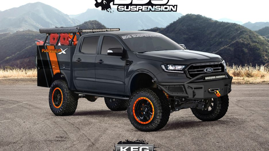 Ford Splashes Onto SEMA Scene With 7 Off-Road 2019 Ranger Concepts - The Drive