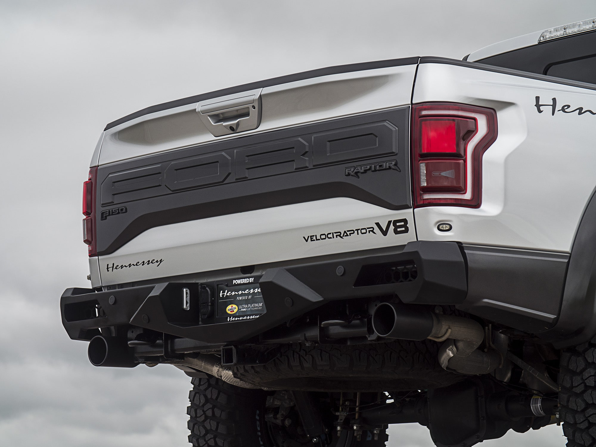 2019 Hennessey Ford F-150 VelociRaptor Ditches the EcoBoost, Boasts Supercharged Coyote V-8 ...