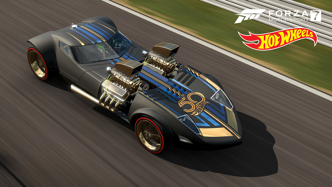 2017 Camaro 50th Anniversary >> 7 New Hot Wheels Cars are Coming to Forza Motorsport 7 ...