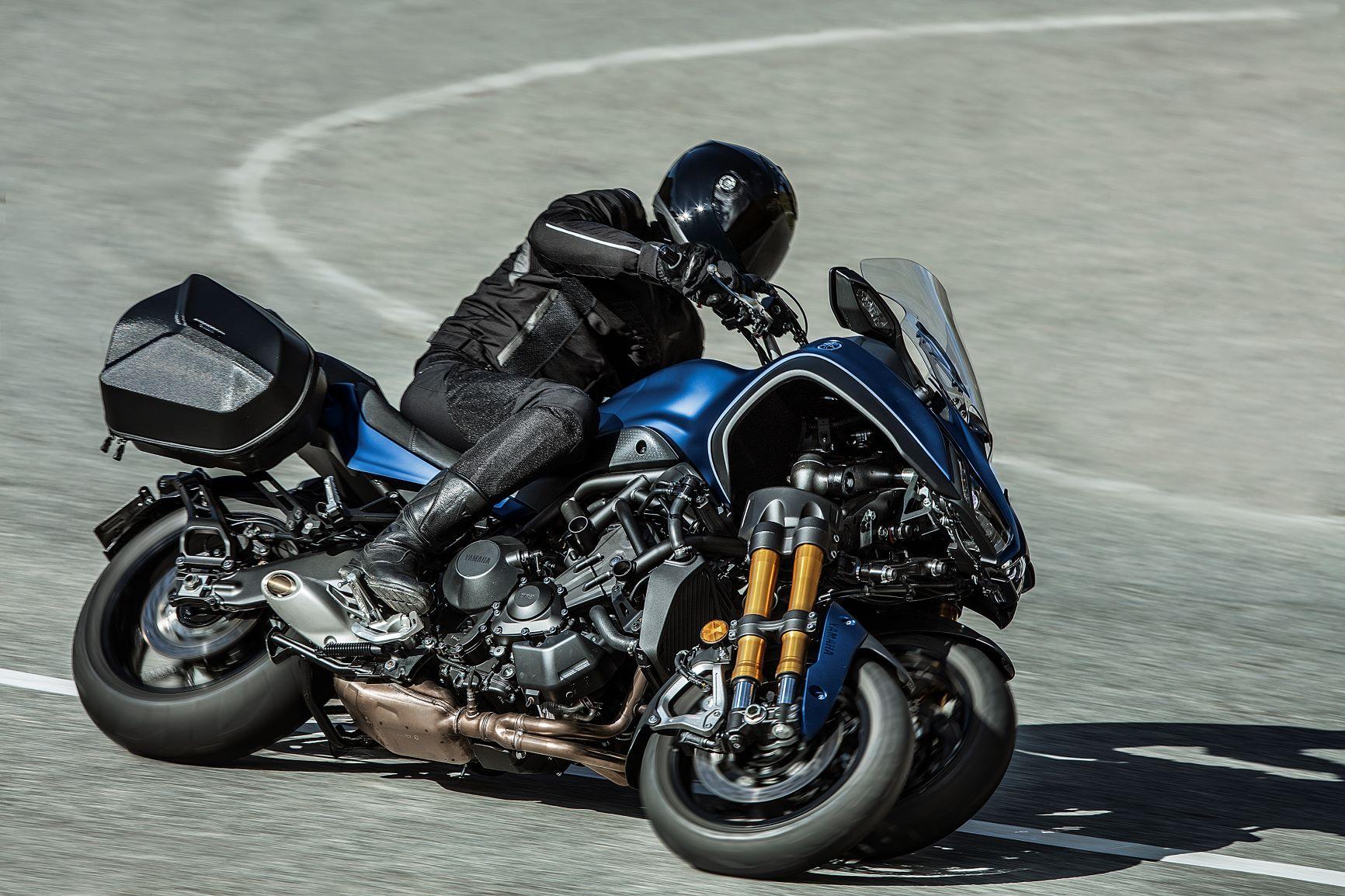 2019 Yamaha Niken GT: Quirky Three-Wheeler Gets Enhanced