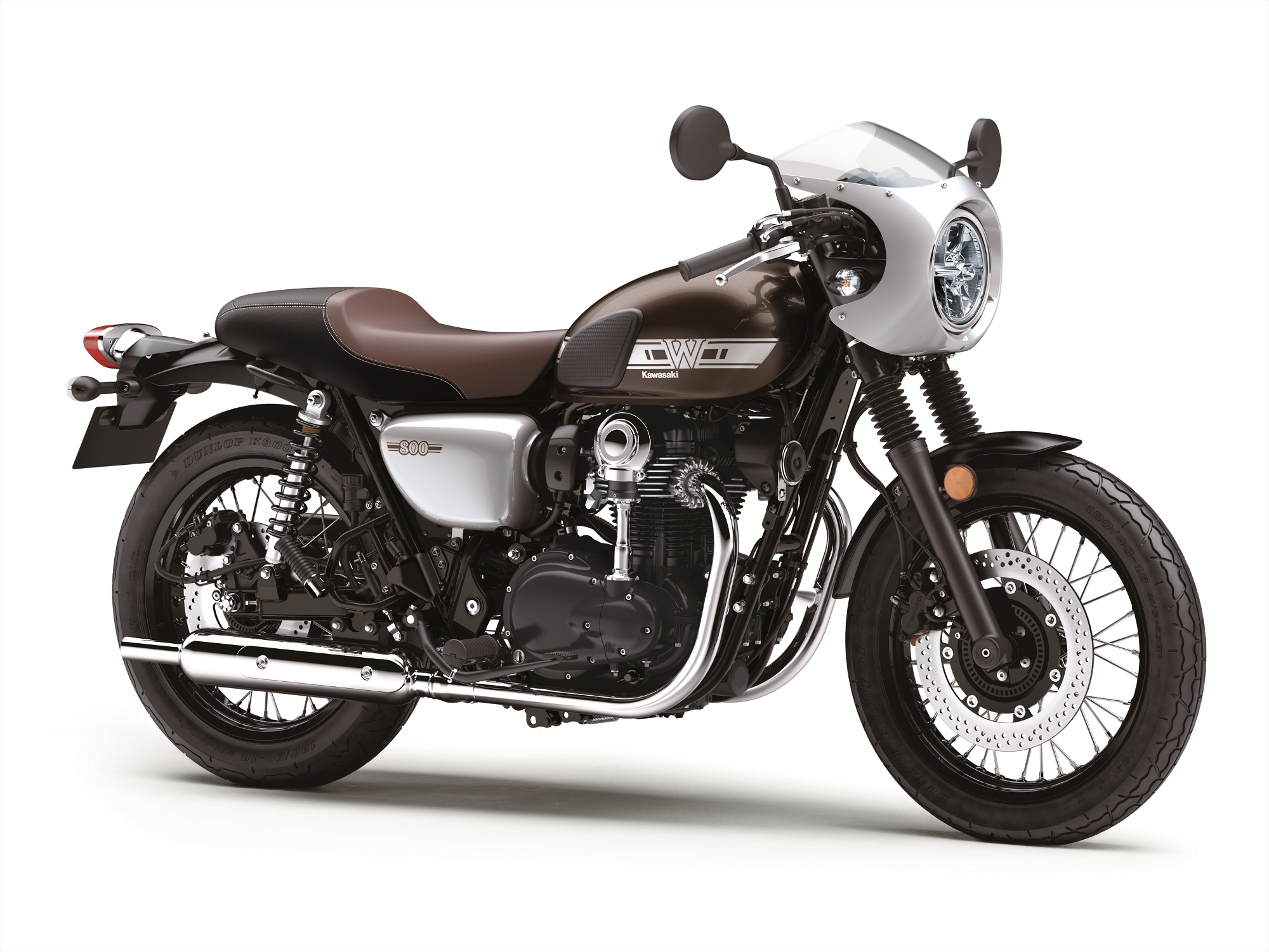 2019 Kawasaki W800 Cafe Another Delightfully Retro Standard From